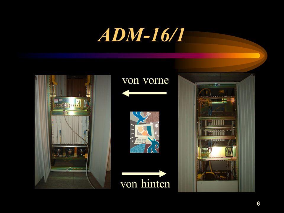 6 ADM-16/1 von vorne von hinten