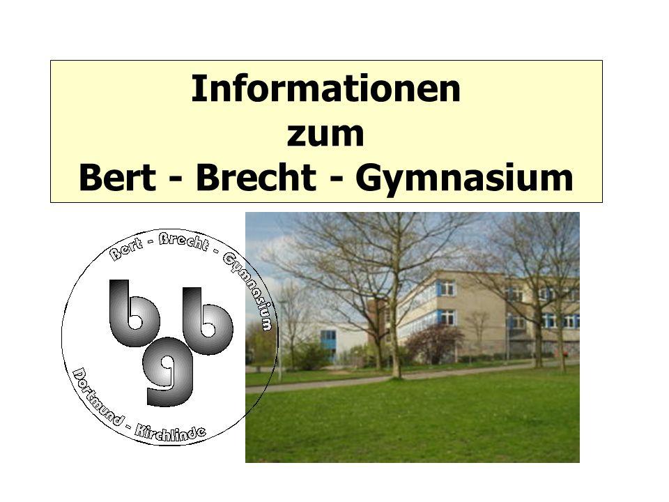 Informationen zum Bert - Brecht - Gymnasium