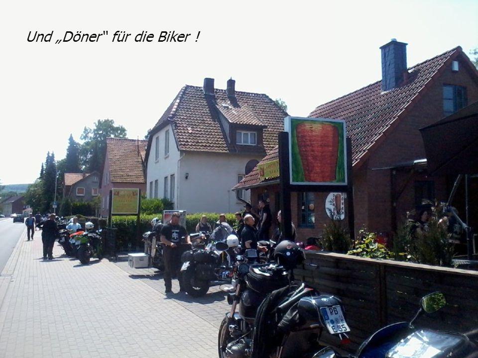 Und Döner für die Biker !