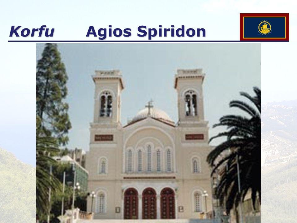 Korfu Agios Spiridon