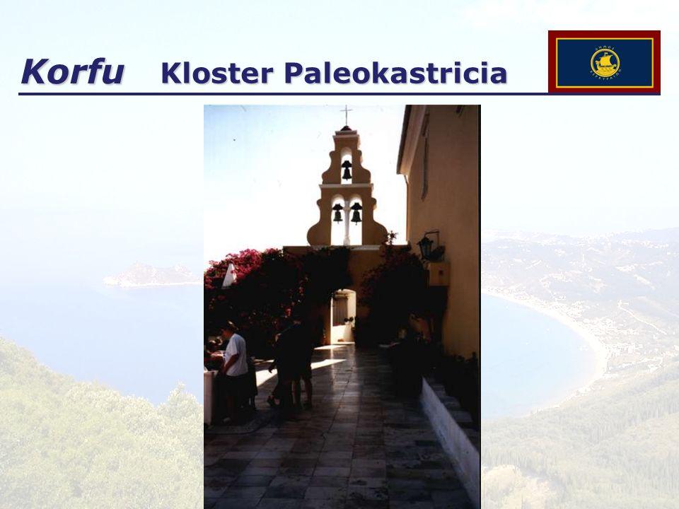 Korfu Kloster Paleokastricia