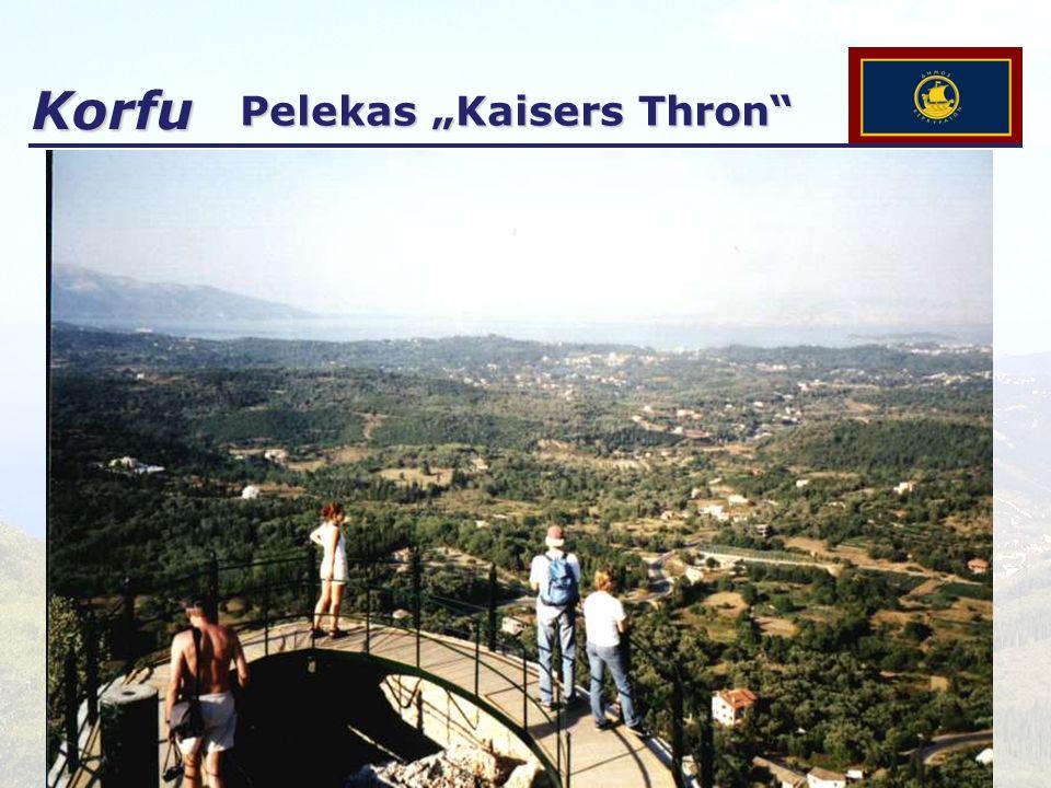 Korfu Pelekas Kaisers Thron