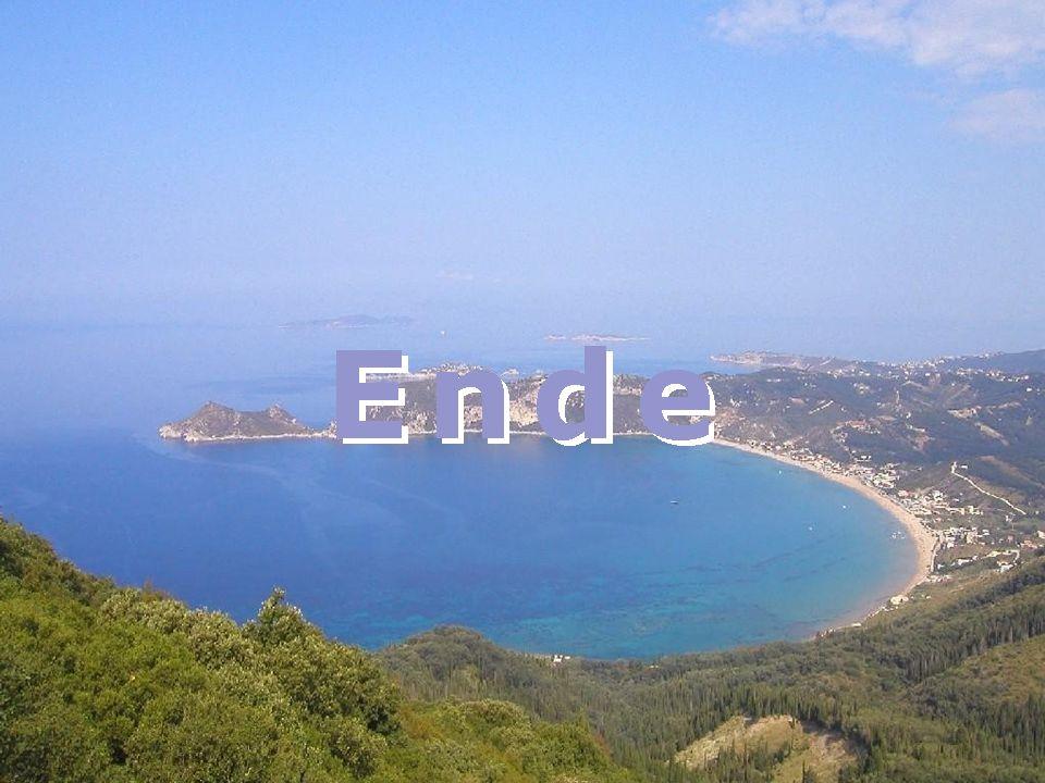 … mit Fernweh verabschieden wir uns von Korfu