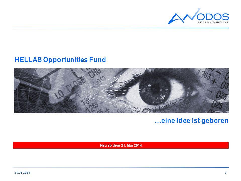 HELLAS Opportunities Fund 113.05.2014 Neu ab dem 21. Mai 2014 …eine Idee ist geboren