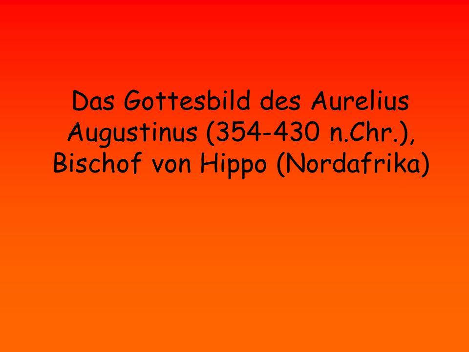 Augustinus ging los....