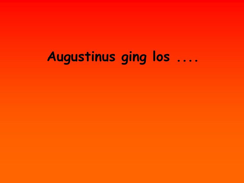 Aurelius fragte die Tiere, ob sie Gott sind. Sie antworteten, dass sie es nicht sind.
