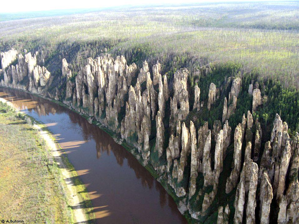 Die Säulen des Flusses Lena. Der verborgene Schatz von Sibirien. Die Säulen des Flusses Lena. Der verborgene Schatz von Sibirien.