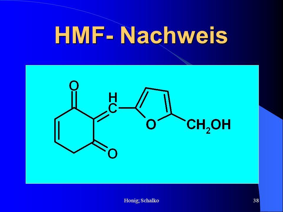 Honig; Schalko38 HMF- Nachweis