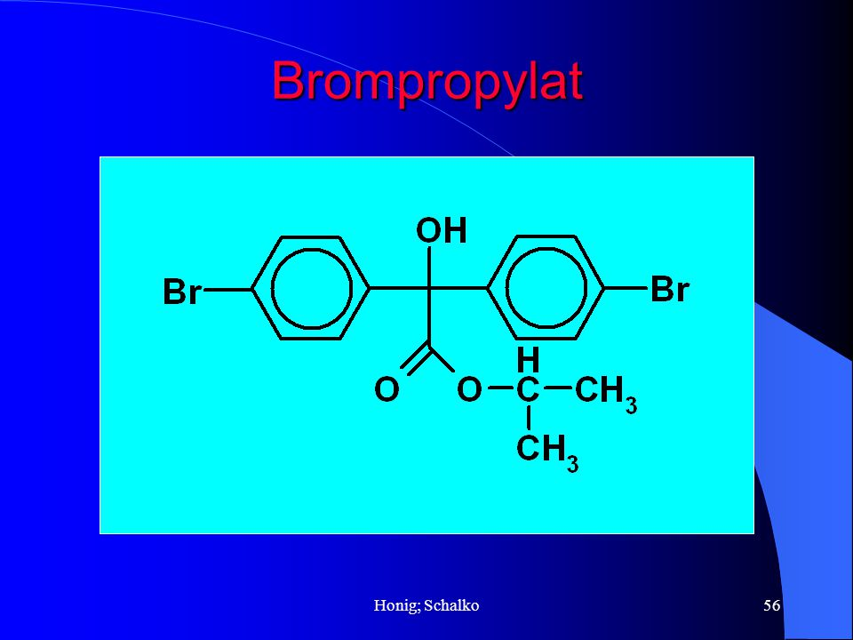 Honig; Schalko56 Brompropylat