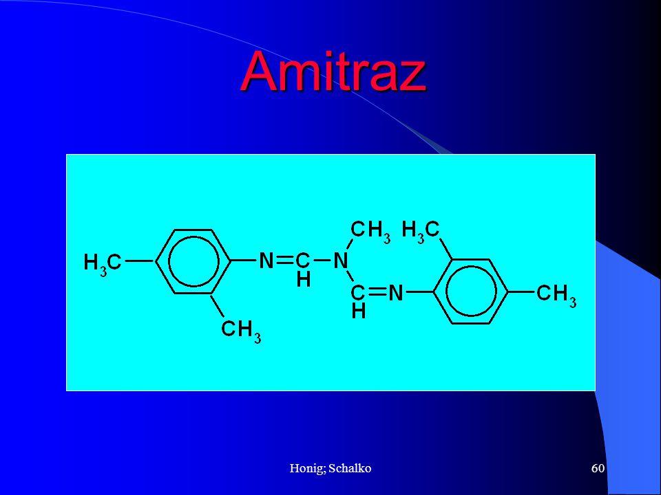 Honig; Schalko60 Amitraz