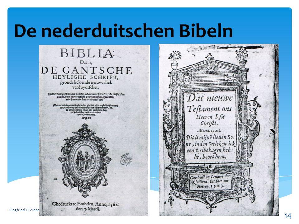 Konfessionen in Ostfriesland Siegfried F. Weber 15