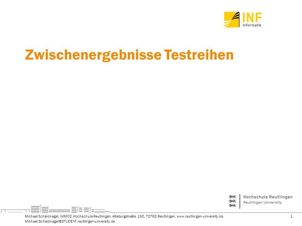 2Michael Schaidnagel, WIM02, Hochschule Reutlingen, Alteburgstraße 150, 72762 Reutlingen, www.reutlingen-university.de, Michael.Schaidnagel@STUDENT.reutlingen-university.de Agenda Ergebnisse Kohorten-Analyse Ergebnisse FLeval-Daten (von Prof.
