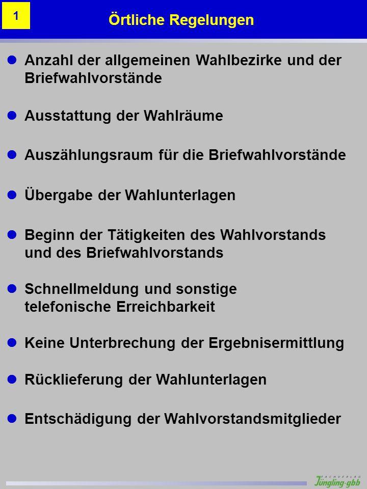 Musterstadt 1 – Altes Schulhaus 2 Gabi Schuster 2 90 Stimmzettelbeispiele Beispiel 5 – Sonstige Kennzeichnung Anhang A.10