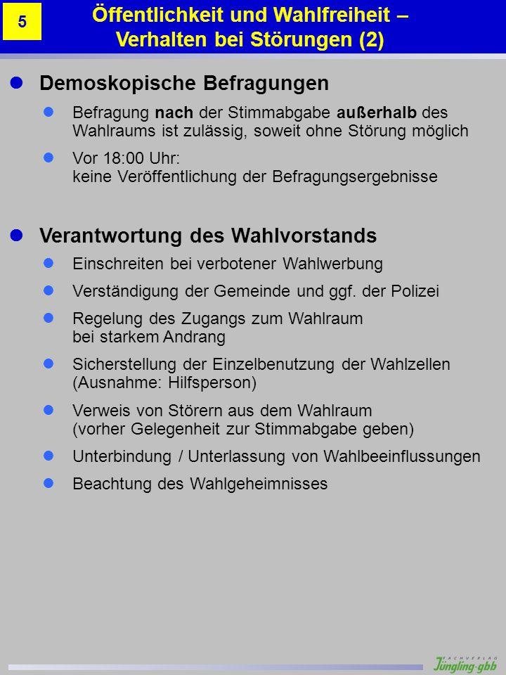 Musterstadt 1 – Altes Schulhaus 4 Gabi Schuster 90 Stimmzettelbeispiele Beispiel 7 – Kreuz bei mehreren Wahlvorschlägen Anhang A.14