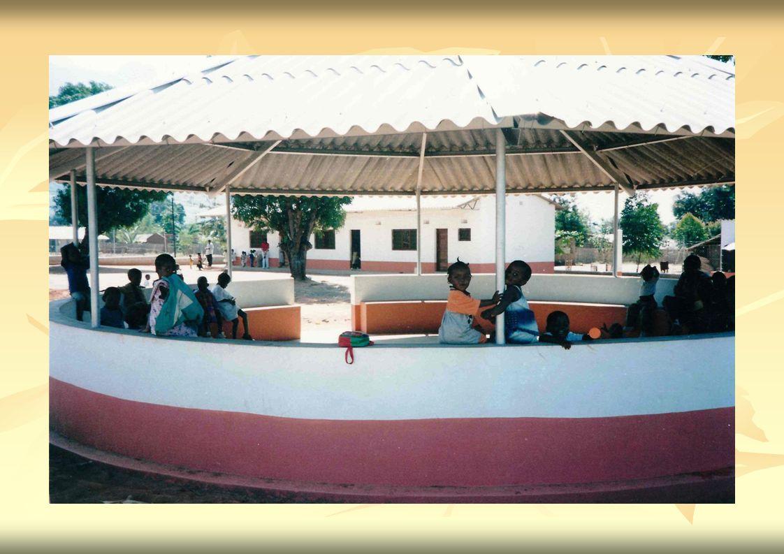 Eine Schule, ein Kindergarten von vielen, die noch gebraucht werden.