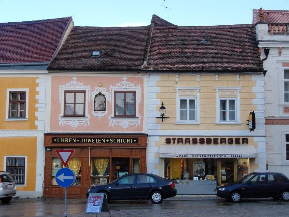 E ggenburg Die mittelalterliche Stadt liegt am Ostrand des Waldviertels.