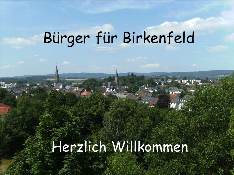 Herzlich Willkommen Bürger für Birkenfeld