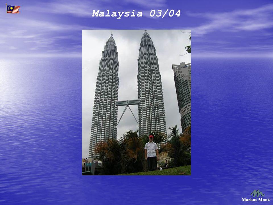 Malaysia 03/04 Markus Munz Besuch der Batu Caves, einige Kilometer außerhalb von KL.