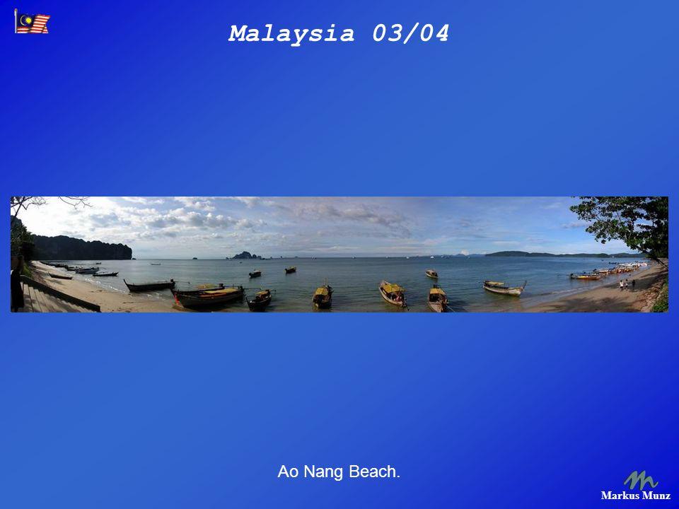Malaysia 03/04 Markus Munz Ao Nang Beach.