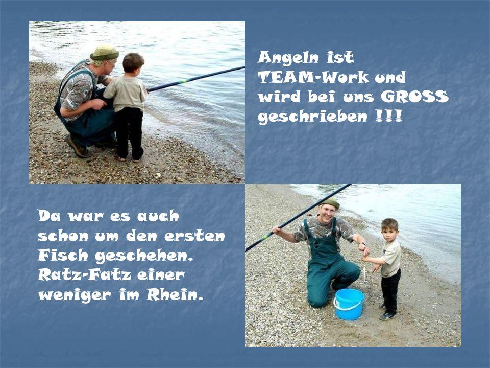 Da war es auch schon um den ersten Fisch geschehen.