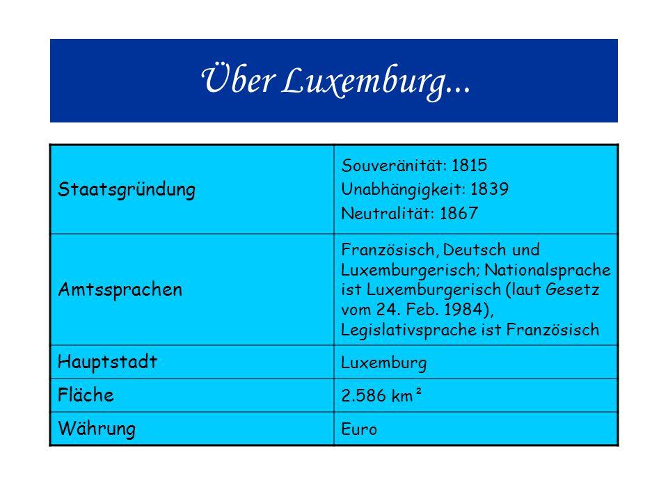 Über Luxemburg...