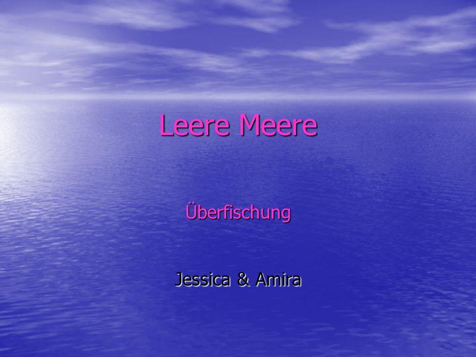 Leere Meere Überfischung Jessica & Amira