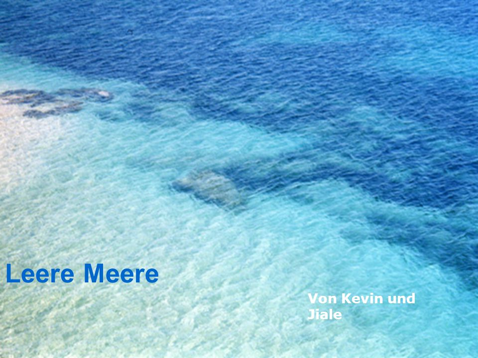 Leere Meere Von Kevin und Jiale