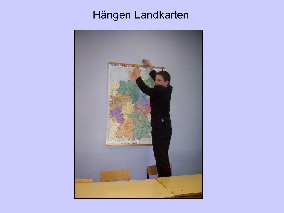 Hängen Landkarten