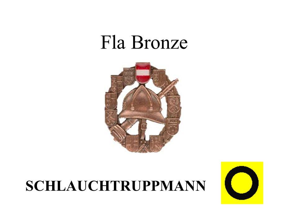 Fla Bronze SCHLAUCHTRUPPMANN