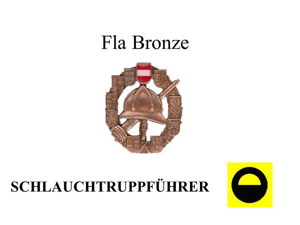 Fla Bronze SCHLAUCHTRUPPFÜHRER