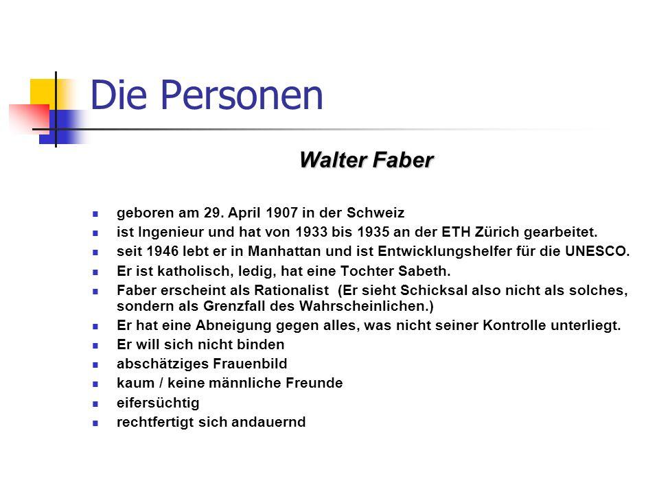 Im zweiten Teil neuesten Tagebuchnotizen Fabers, Erzählzeit und erzählte Zeit ineinander aufgehen.