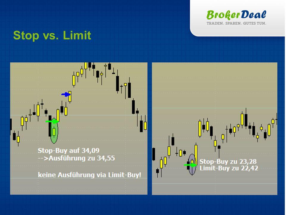 Stop vs. Limit