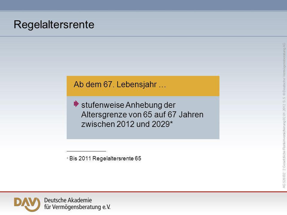 AG 528 B2 2 Gesetzliche Rentenversicherung 02.01.2012 S.