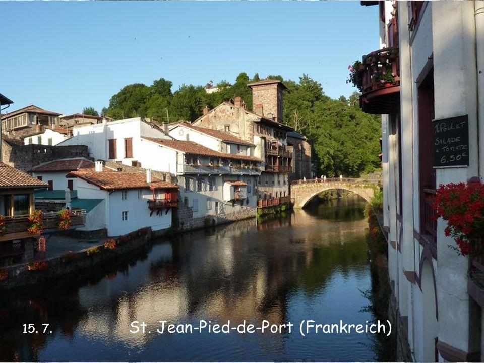 St. Jean-Pied-de-Port (Frankreich) 15. 7.