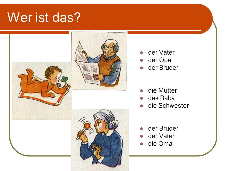 Расскажи о себе и своей семье: Ich heisse _________.