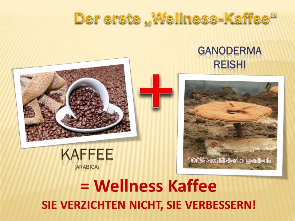 = Wellness Kaffee SIE VERZICHTEN NICHT, SIE VERBESSERN!