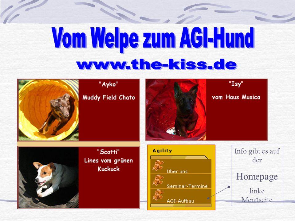 Info gibt es auf der Homepage linke Menüseite