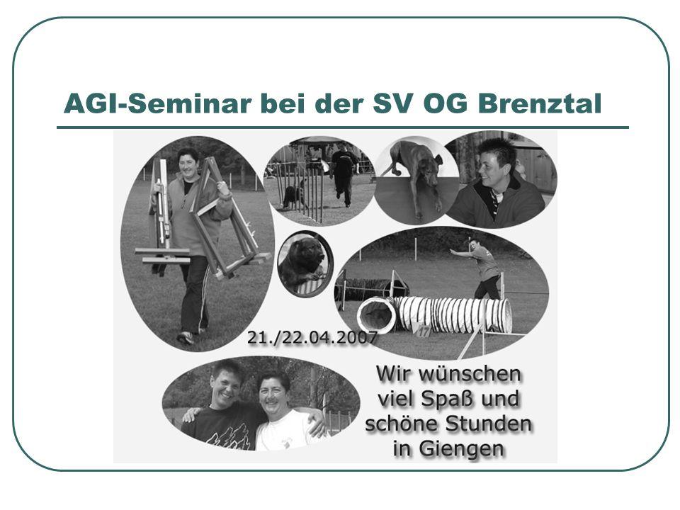 AGI-Seminar bei der SV OG Brenztal