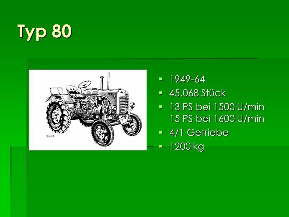 Typ 180a 1953-59 1953-59 14.420 Stück 14.420 Stück 30 PS bei 1600 U/min 30 PS bei 1600 U/min 6/1 Getriebe 6/1 Getriebe 1900 kg 1900 kg