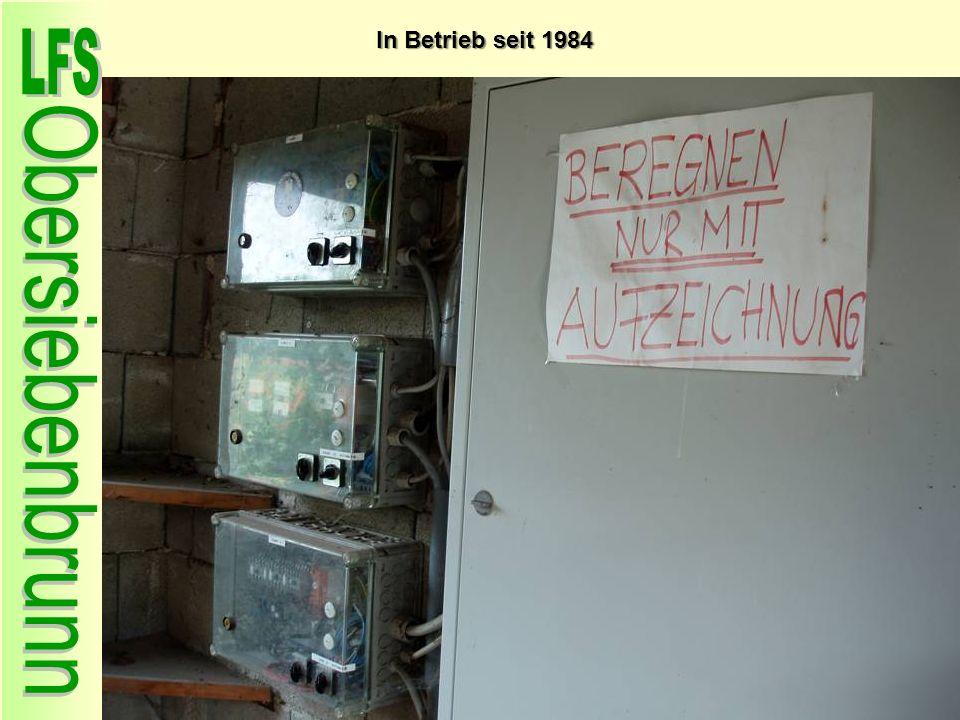 Dachisolation In Betrieb seit 1984