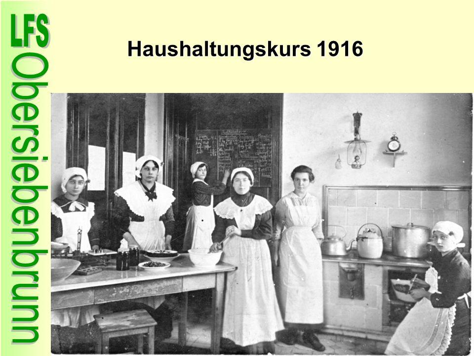 Haushaltungskurs 1916
