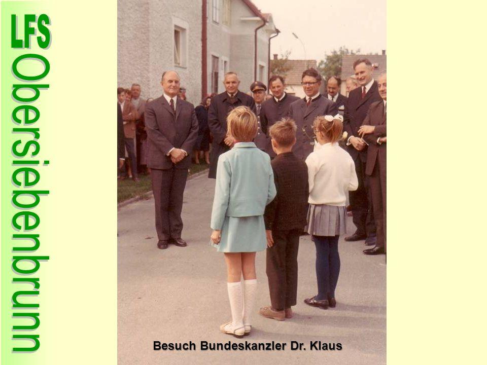 Besuch Bundeskanzler Dr. Klaus