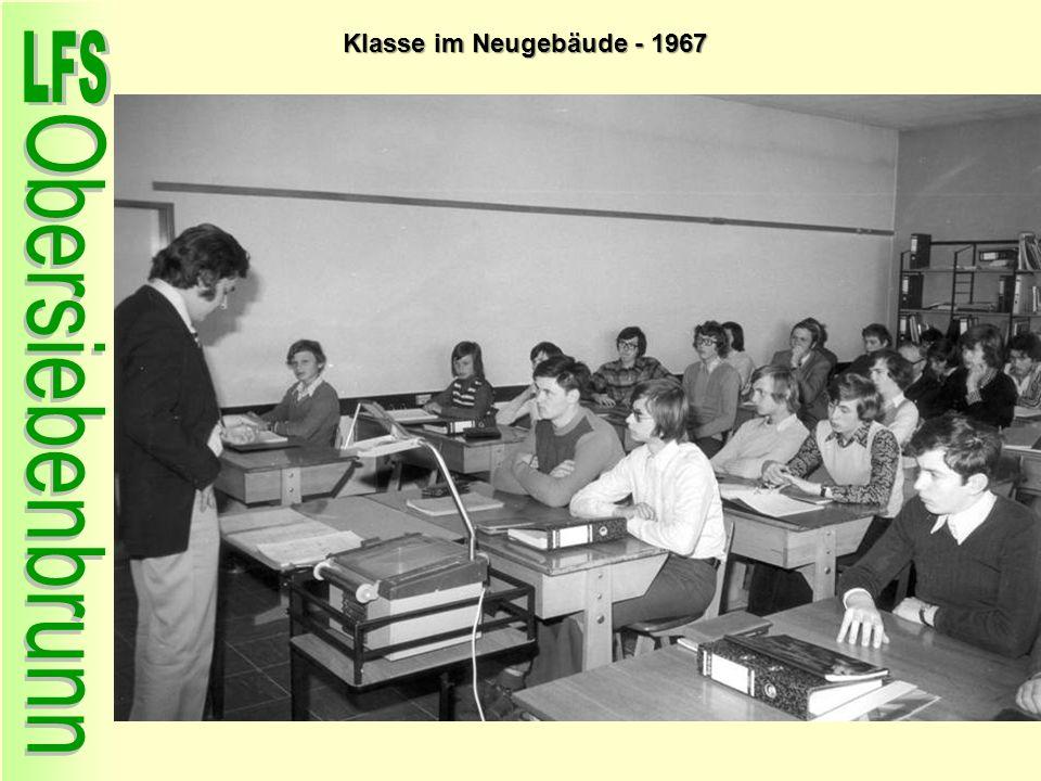 Klasse im Neugebäude - 1967