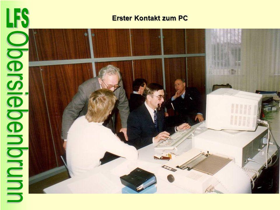 Erster Kontakt zum PC