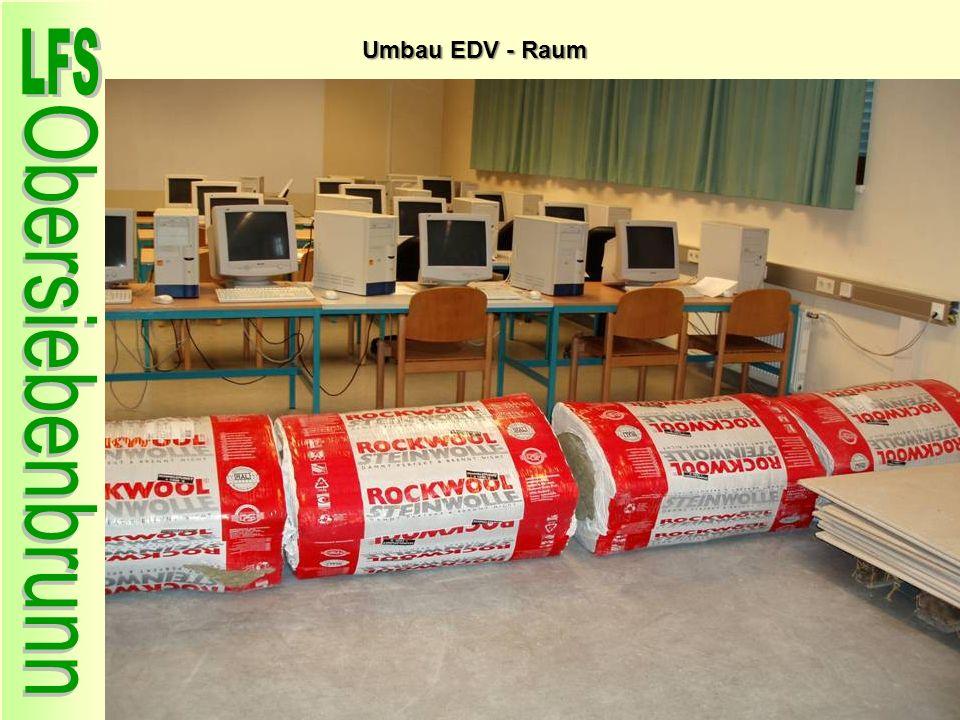 Umbau EDV - Raum