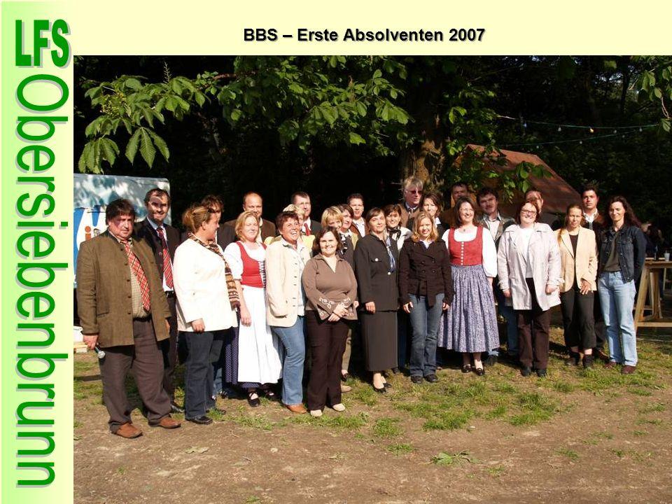 BBS – Erste Absolventen 2007