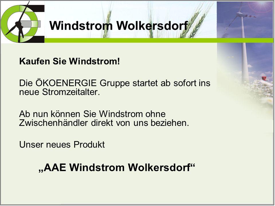 Windstrom Wolkersdorf Kaufen Sie Windstrom! Die ÖKOENERGIE Gruppe startet ab sofort ins neue Stromzeitalter. Ab nun können Sie Windstrom ohne Zwischen