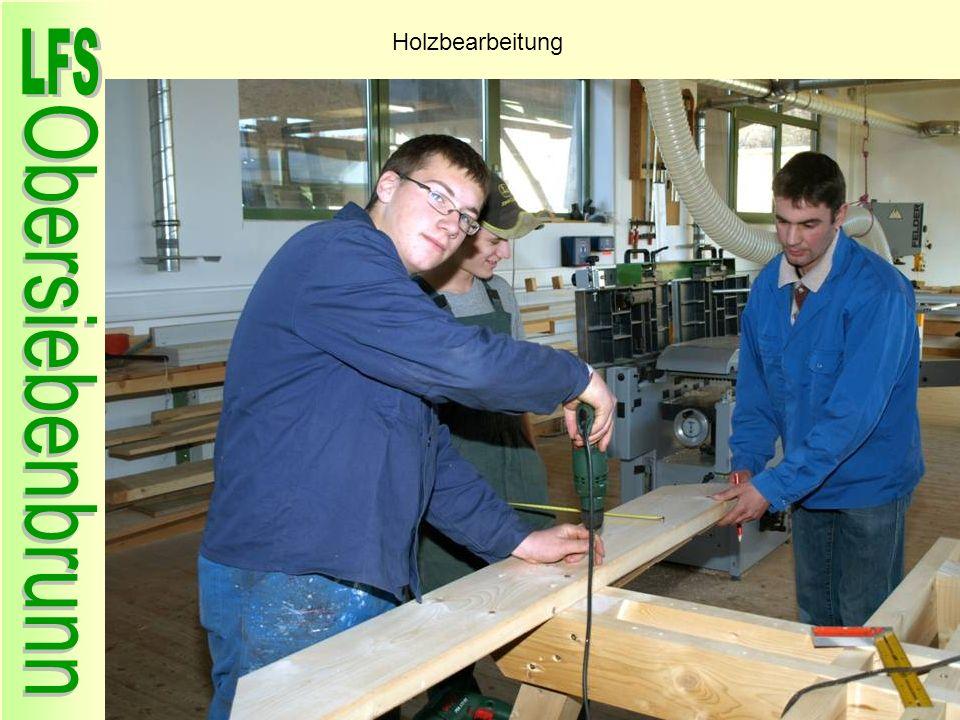 Holzbearbeitung