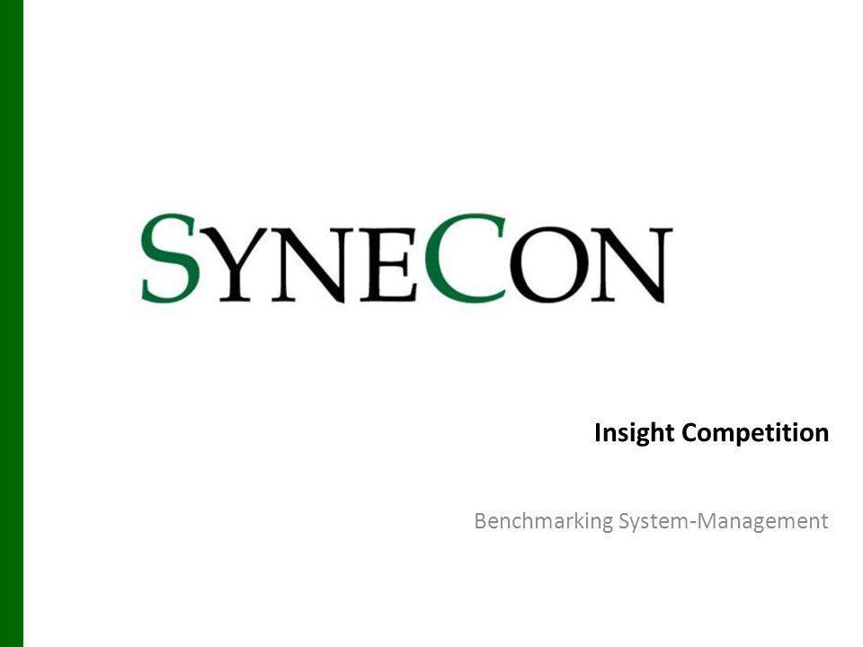Unternehmens-IT Enterprise Management IT integrieren 26.05.2014 Synecon Management Benchmarking 22 Network Node Manager Operations ca Unicenter ServerView Integration Packs Assistentenbasierte Installation