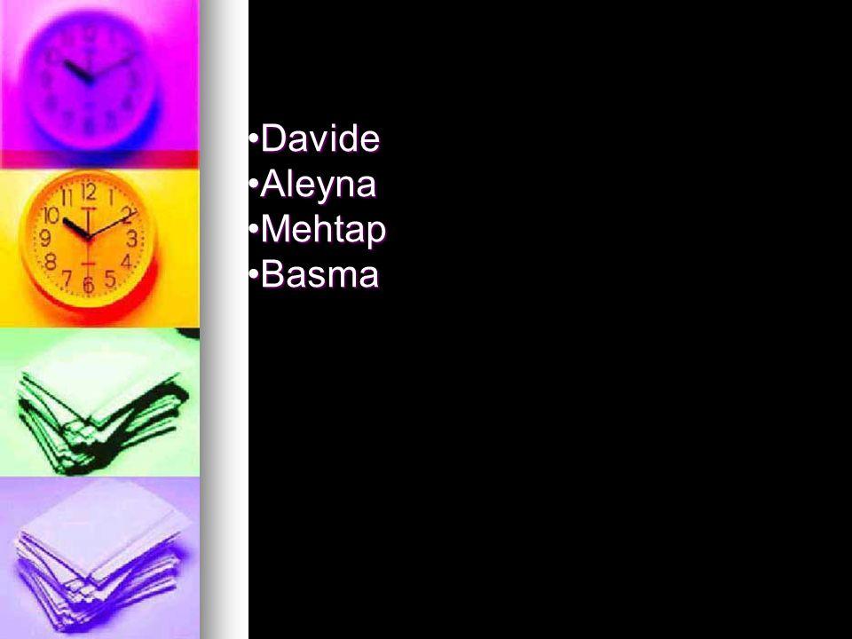 Davide Aleyna Mehtap Basma